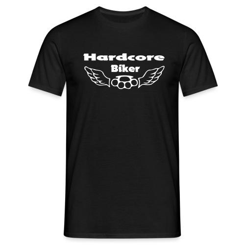 hardcore biker - Männer T-Shirt