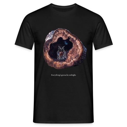 Owlright farbig - Männer T-Shirt