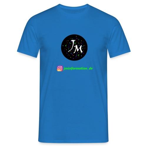 jminformation-Logo - Männer T-Shirt