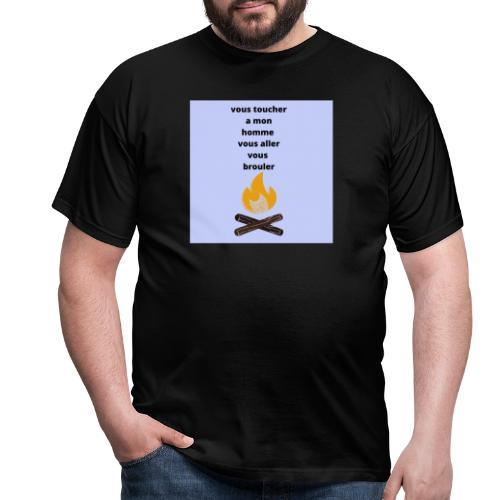 c pour les homme qui sont pris - T-shirt Homme