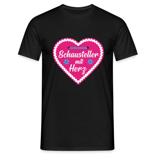Schausteller mit Herz - Männer T-Shirt