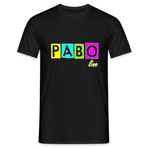 pabo line 4 color - Männer T-Shirt