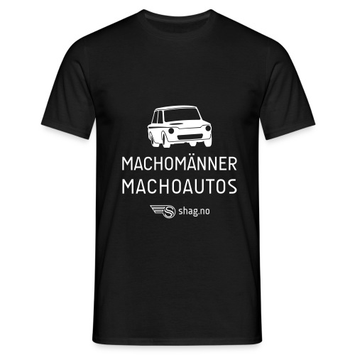 spreadshirt machomanner - T-skjorte for menn