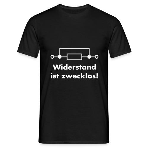 widerstand01 - Männer T-Shirt