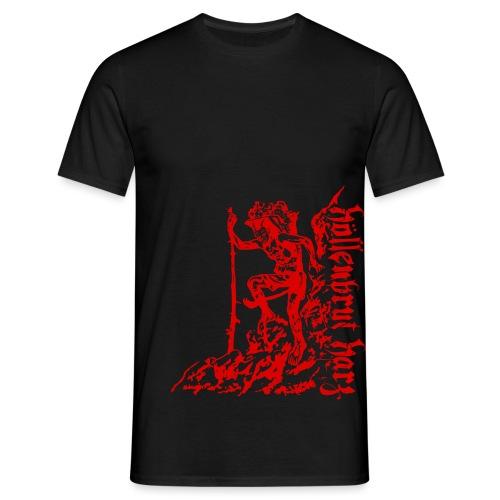 Teufel und Schriftzug - Männer T-Shirt