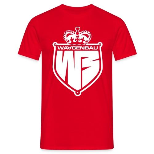 waagenbau crown blank weiss - Männer T-Shirt