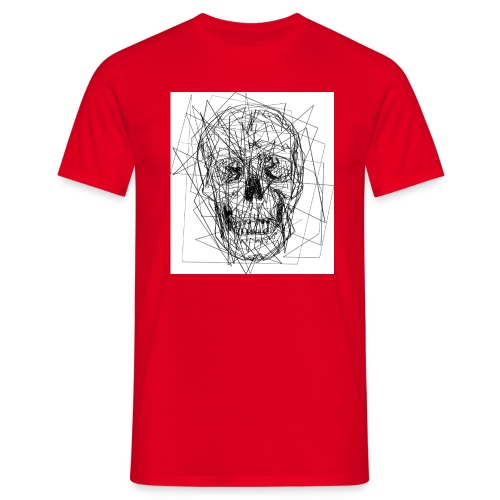 teschio - Maglietta da uomo