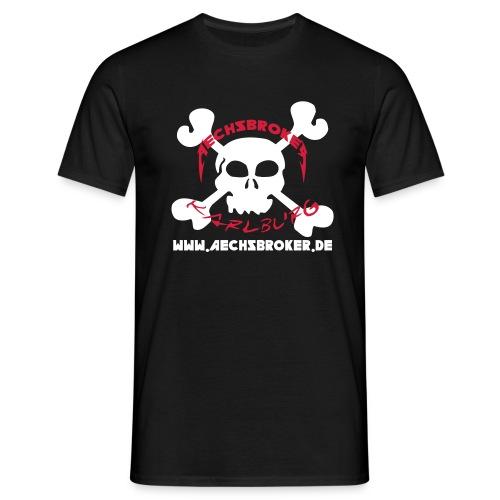 aechsbrokerskull - Männer T-Shirt