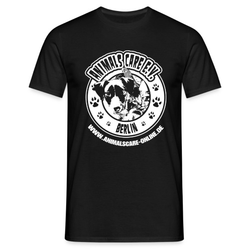 Animals Care Logo - Männer T-Shirt