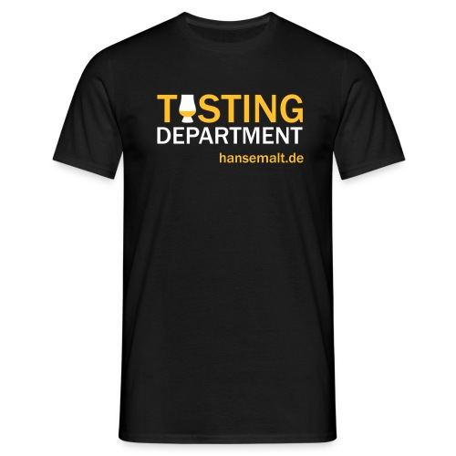 tasting department - Männer T-Shirt