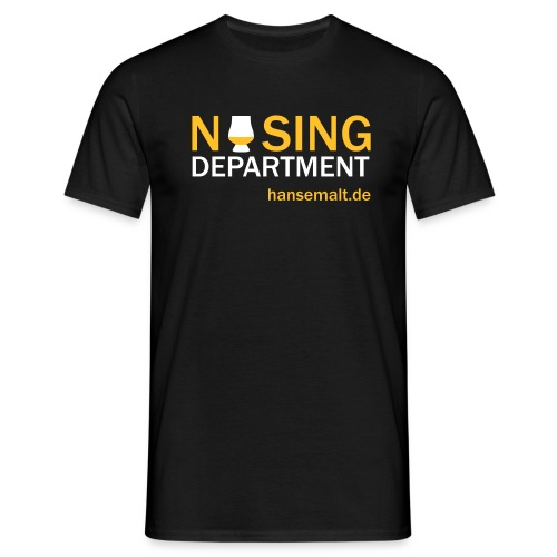 nosingdepartement spreadshirt - Männer T-Shirt
