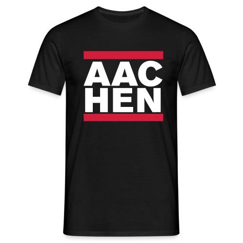 aachenblack - Männer T-Shirt