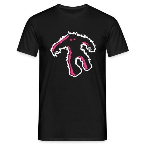 si monster stencil - Männer T-Shirt