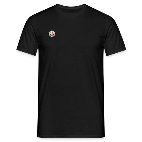 6 HOEKIGE LOGO - Mannen T-shirt