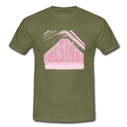 Helsinki light pink - Men's T-Shirt