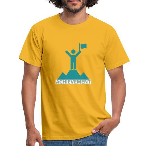 Typo Achiement by CloudMonde - Men's T-Shirt