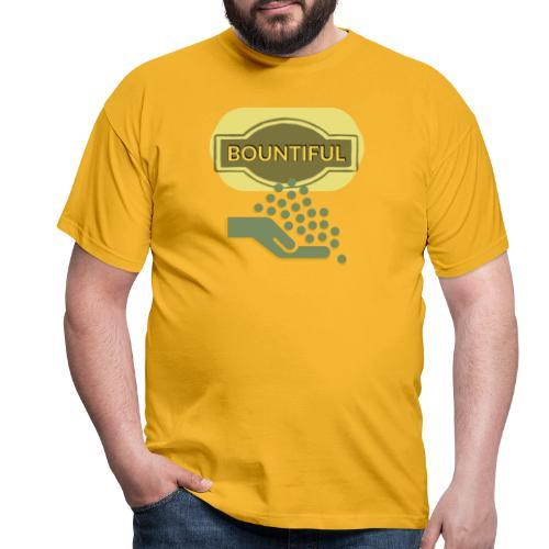 Bountiful - Men's T-Shirt