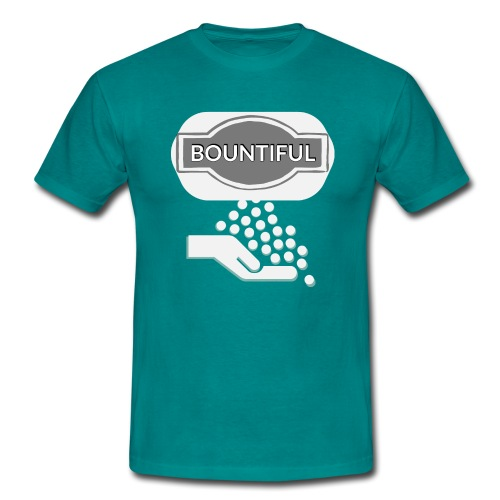 Bontiul gray white - Men's T-Shirt