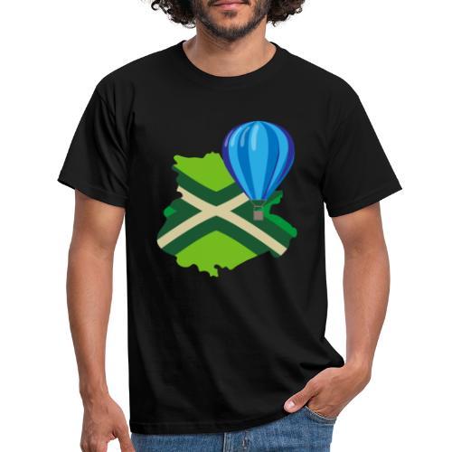 Achterhoek Ballonvaarten - Mannen T-shirt