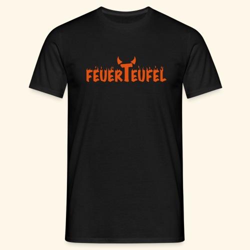 Feuerteufel - Männer T-Shirt