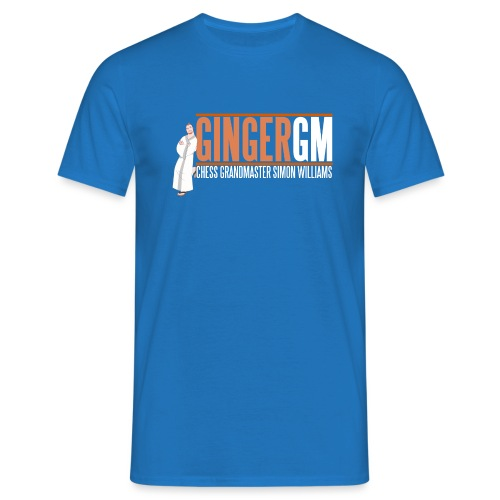 Ginger GM White Logo - Men's T-Shirt