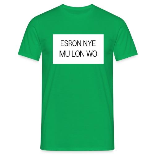 ESRON NYE MU LON WO - T-shirt Homme