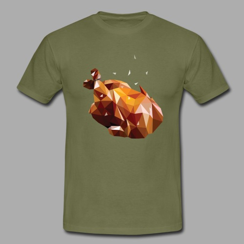 Turkey polyart - Men's T-Shirt