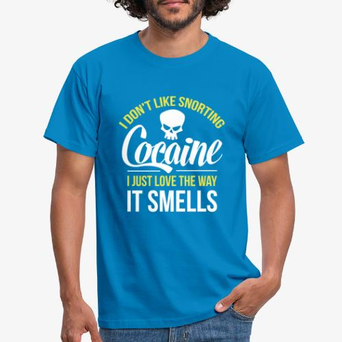 I don't like snorting Cocaine - Herre-T-shirt