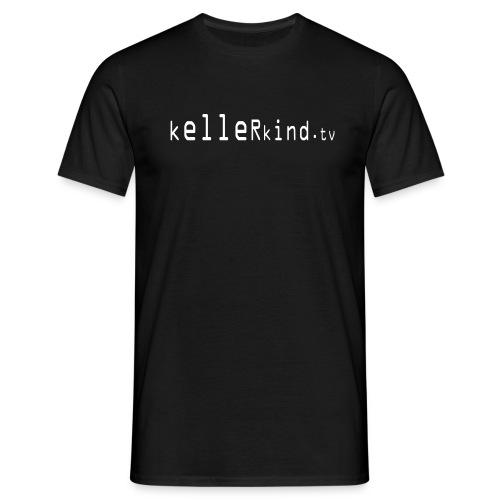 kellerlogotext23cm - Männer T-Shirt