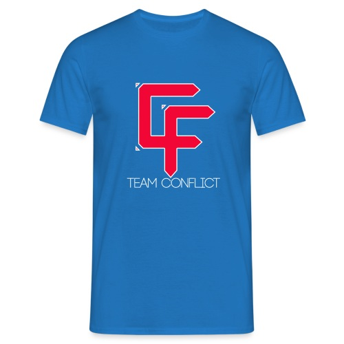 CF Final White Border t shirts with text thin whit - Men's T-Shirt