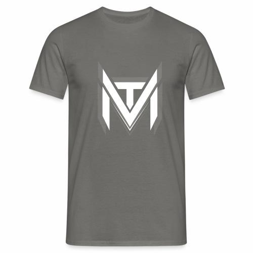 MadVexTV Logo Weiss - Männer T-Shirt