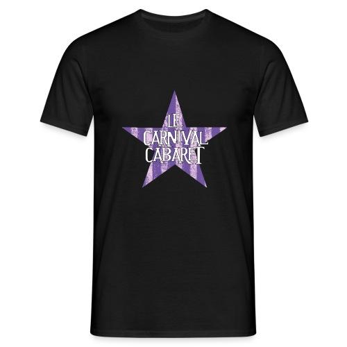 bonnet LCC noir etoie violette - Men's T-Shirt
