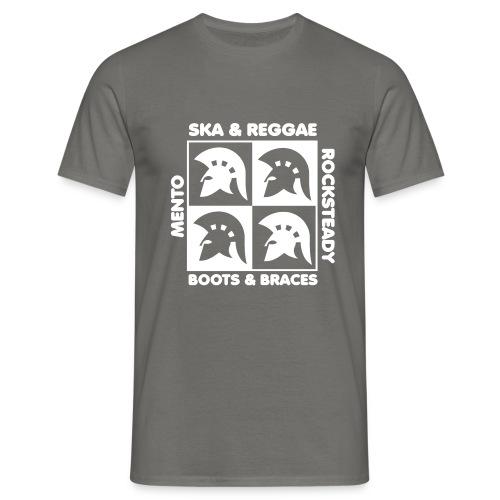 ska, reggae, rocksteady,Mento Boots & Braces - Männer T-Shirt