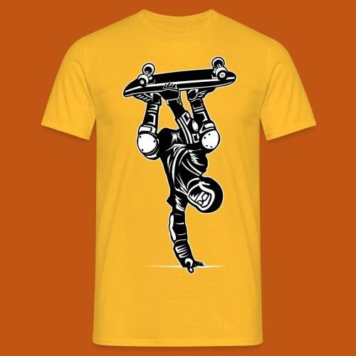 Skater / Skateboarder 02_schwarz weiß - Männer T-Shirt
