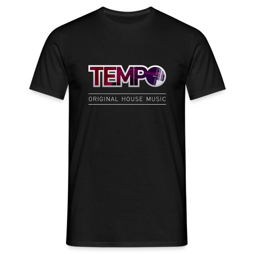 TempoOHM-WHITE.png - Men's T-Shirt