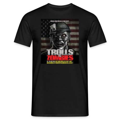 trollmeeting_2014_neu - Männer T-Shirt