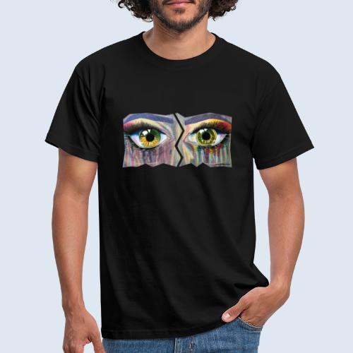 """Augenblick """"open eyes"""" made in Berlin - Männer T-Shirt"""