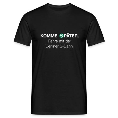 Berliner S Bahn - Männer T-Shirt
