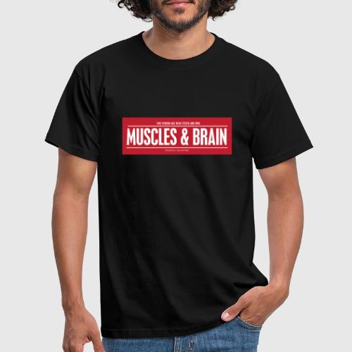 MUSCLES AND BRAIN W1 - Herre-T-shirt