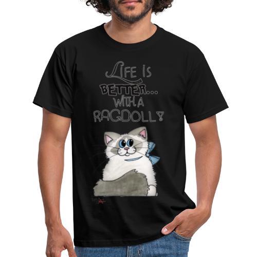 Ragdoll - Maglietta da uomo