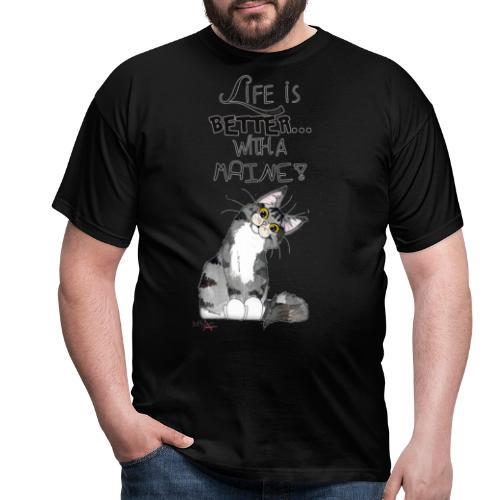 Maine Coon - Maglietta da uomo