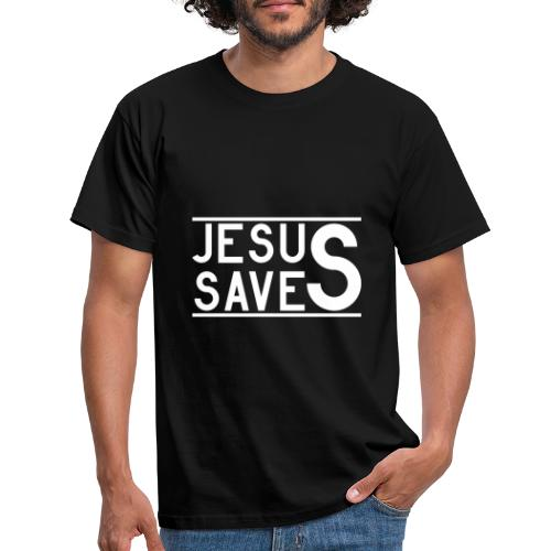 Jesus Saves - Männer T-Shirt