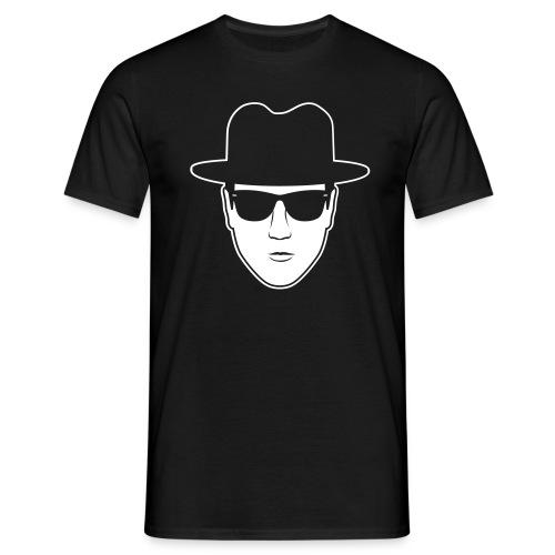 The Face weiss - Männer T-Shirt