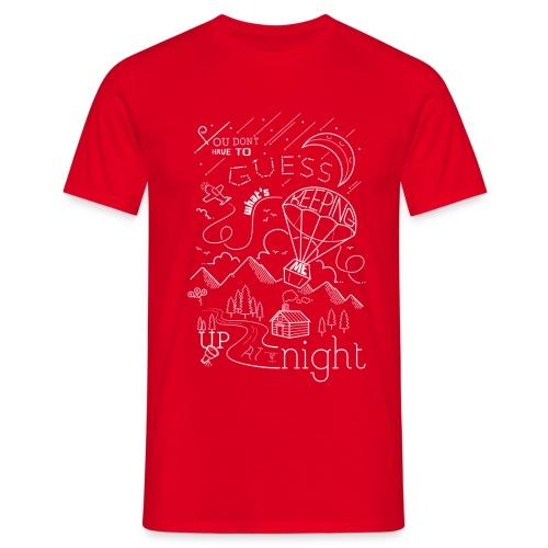 Up at Night lil smaller - Men's T-Shirt