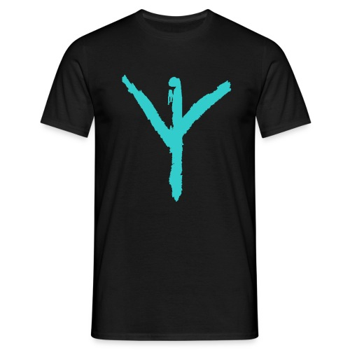 Youth-Y-LOGO-Blue - Men's T-Shirt