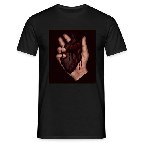 blood heart - Men's T-Shirt