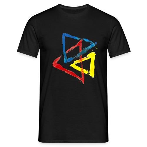 Geometric - Maglietta da uomo