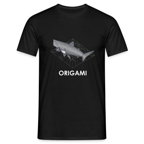 Origami Shark - T-shirt Homme