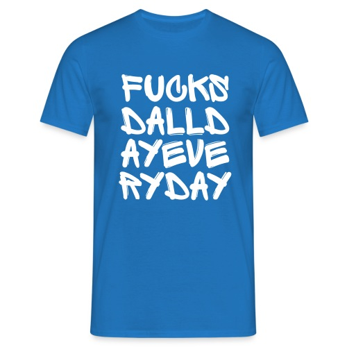 fuck sd all day every day - T-shirt herr