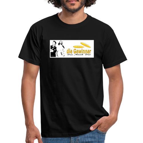 Das Logo mit dem Bild - Männer T-Shirt